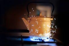 Magische ketel Royalty-vrije Stock Foto's