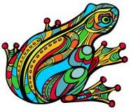 Magische kikker stock illustratie