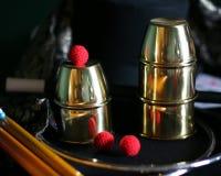 Magische Koppen en Ballentruc Royalty-vrije Stock Foto's
