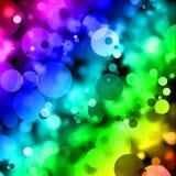 Magische Kreise - Grafik Stockbild