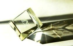 Magische kristal Stock Foto