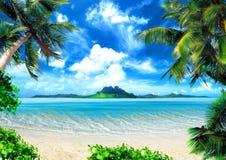 Magische kust Royalty-vrije Stock Afbeelding