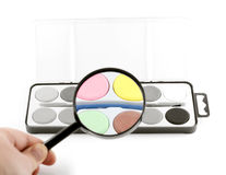 Magische lens Royalty-vrije Stock Afbeelding