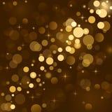 Magische Leuchten, Hintergrundschein, verwischten L Stockfotos