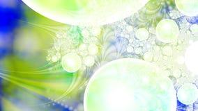 Magische luchtbellen microcosm Cluster van planeten Royalty-vrije Stock Fotografie
