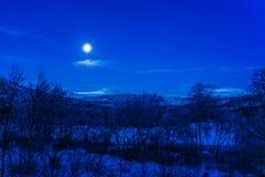 Magische maan stock fotografie