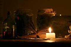 Magische Mening Stock Foto