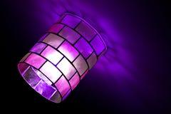 Magische mozaïeklamp Stock Foto