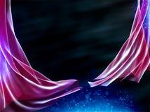 Magische nacht Royalty-vrije Stock Afbeeldingen