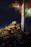 Magische Nacht in Luxor royalty-vrije stock foto