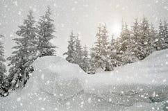 magische Nacht von Weihnachten Stockbilder