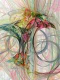Magische paddestoel stock illustratie
