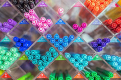 Magische Pen op de planken Stock Foto