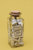 Magische Pillen Stockbild