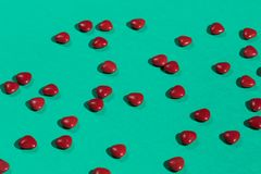 Magische Pillen für Herz krankheiten lizenzfreies stockbild