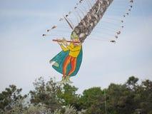 Magische Piper Kite royalty-vrije stock foto