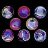 Magische ronde ballen Royalty-vrije Stock Foto's