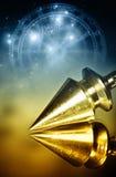 Magische slinger royalty-vrije stock afbeeldingen