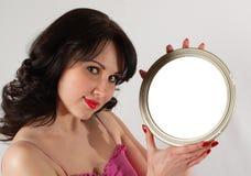 Magische spiegel Stock Foto's