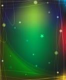 Magische sterachtergrond Stock Foto