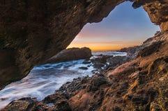 Magische Stunde im Laguna Beach Lizenzfreies Stockbild