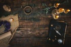 Magische Tabelle stockfoto