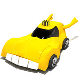 Magische Taxi Royalty-vrije Illustratie