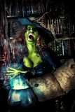 Magische tovenaar Stock Afbeeldingen