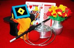 Magische Trucs en illusie Royalty-vrije Stock Fotografie