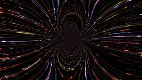 Magische Videoanimation in der Bewegung, Schleife HD 1080p lizenzfreie abbildung