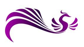 Magische vogel stock illustratie