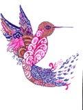 Magische vogel royalty-vrije illustratie