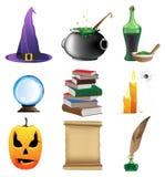 Magische voorwerpen Royalty-vrije Stock Foto's