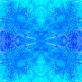 Magische waterverfachtergrond Naadloos patroon Royalty-vrije Stock Foto's
