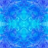 Magische waterverfachtergrond Naadloos patroon Stock Afbeelding