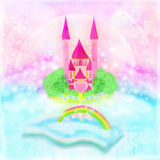 Magische Welt von Geschichten Lizenzfreie Stockbilder