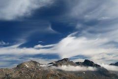 Magische wolken Royalty-vrije Stock Afbeelding