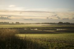 Magische zonsopgang Royalty-vrije Stock Foto
