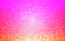 Magischer abstrakter Hintergrund Unscharfe Steigung mit hellen Lichtern Modernes Design für Netz oder Plakat Auch im corel abgeho stock abbildung