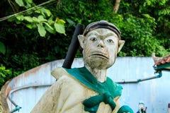 Magischer Affe in Thailand Lizenzfreies Stockbild