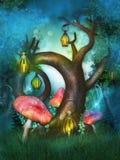 Magischer Baum Lizenzfreie Stockfotografie