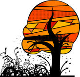 Magischer Baum Lizenzfreies Stockfoto