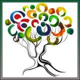 Magischer Baum 1 Lizenzfreies Stockbild