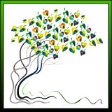 Magischer Baum 3 Lizenzfreies Stockbild