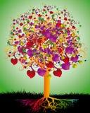 Magischer Baum der Liebe Lizenzfreie Stockfotografie