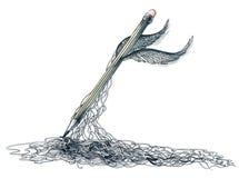 Magischer Bleistift Lizenzfreie Stockbilder