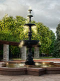 Magischer Brunnen Stockfoto