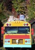 Magischer Bus Stockbild