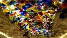 Magischer Chihuly Glas-Garten der Blendungs- Stockfotos