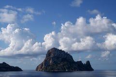 Magischer Felsen Es Vedra Ibiza lizenzfreies stockbild